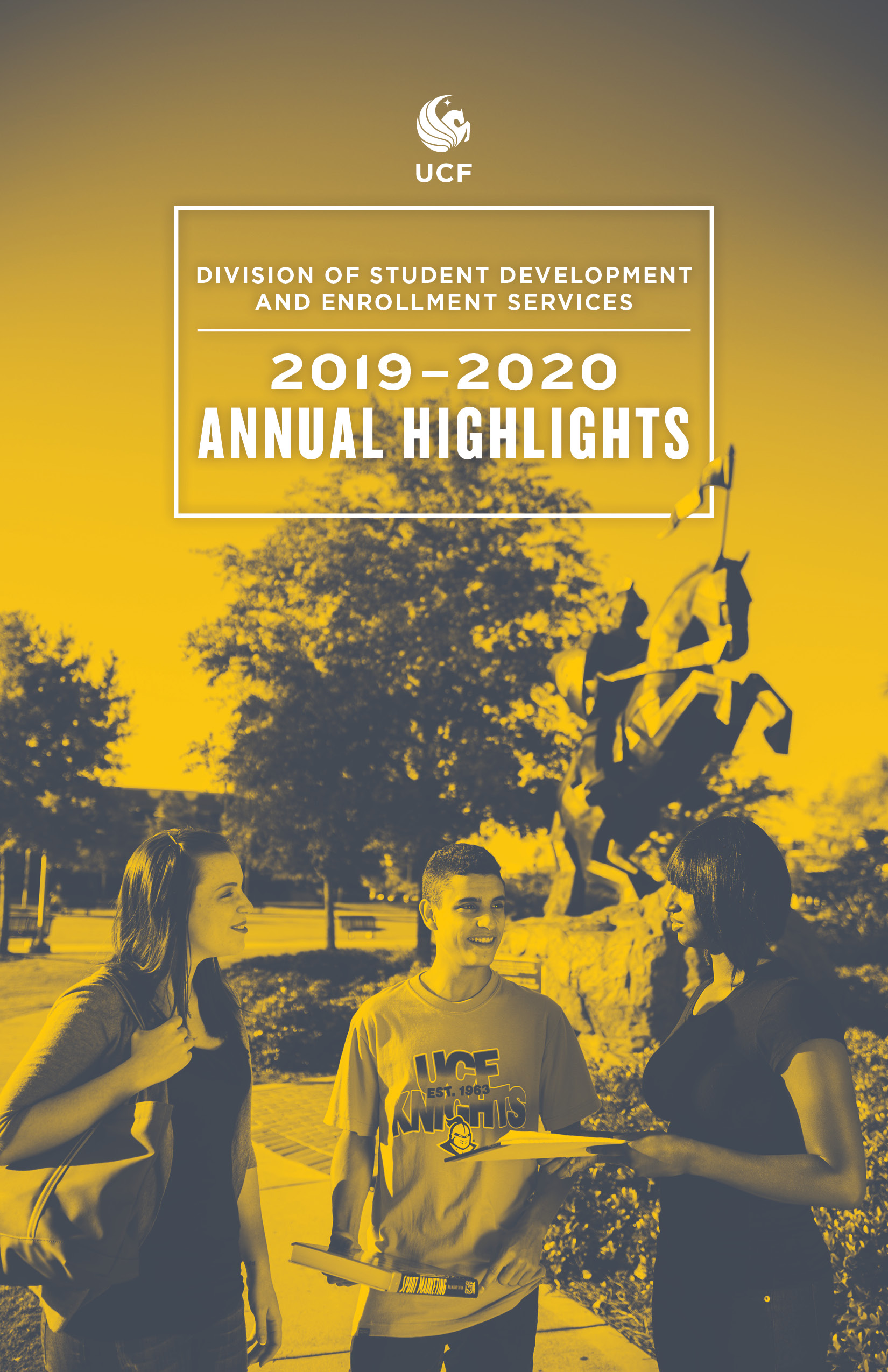 2019-2020 Annual Highlights Cover